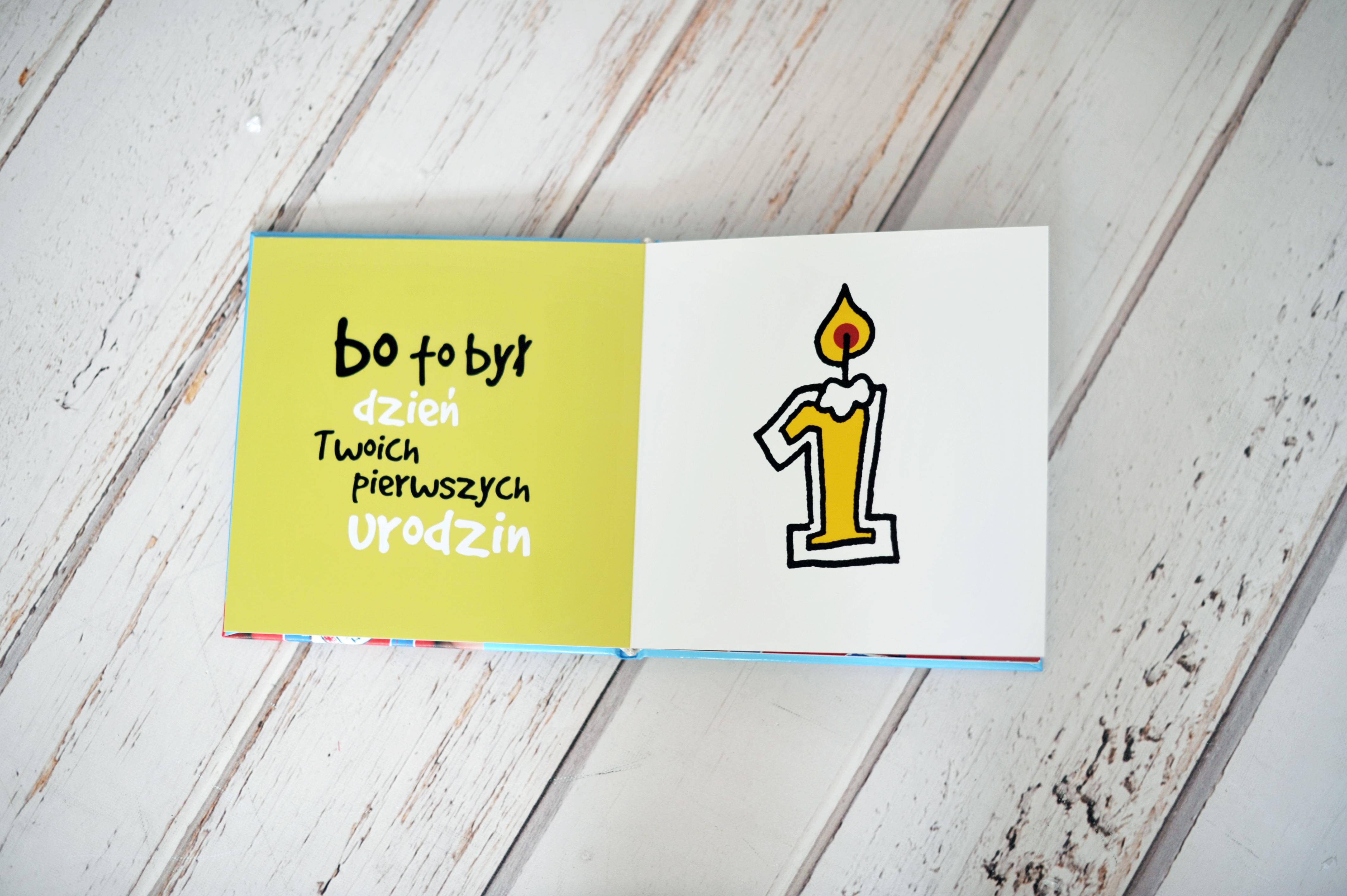 pamiątka pierwszych urodzin